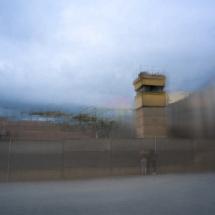 Wachturm an der Berliner Mauer Lonicer