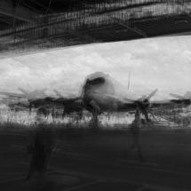 Flugzeug-Tempelhoferfeld-Lonicer-sw